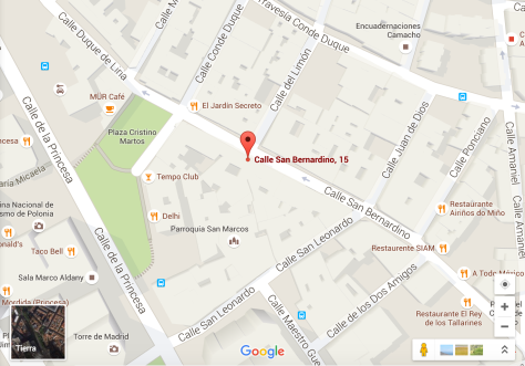 Maps_calle san bernardino